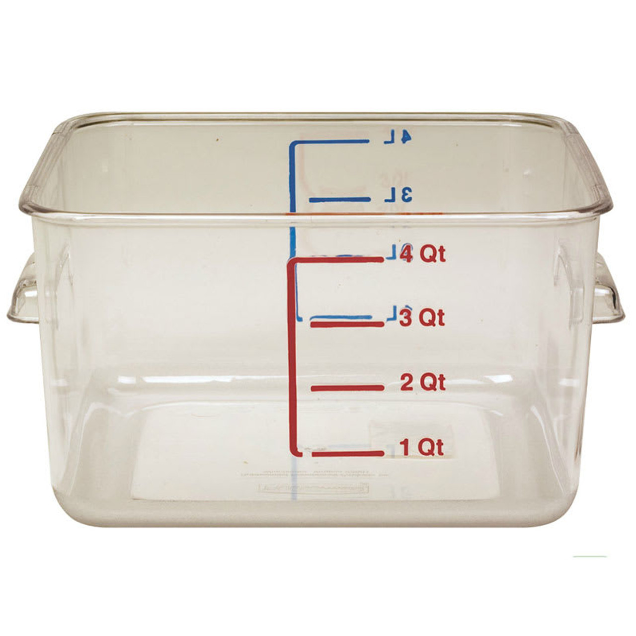 Rubbermaid Space Saving Container 3.8 L