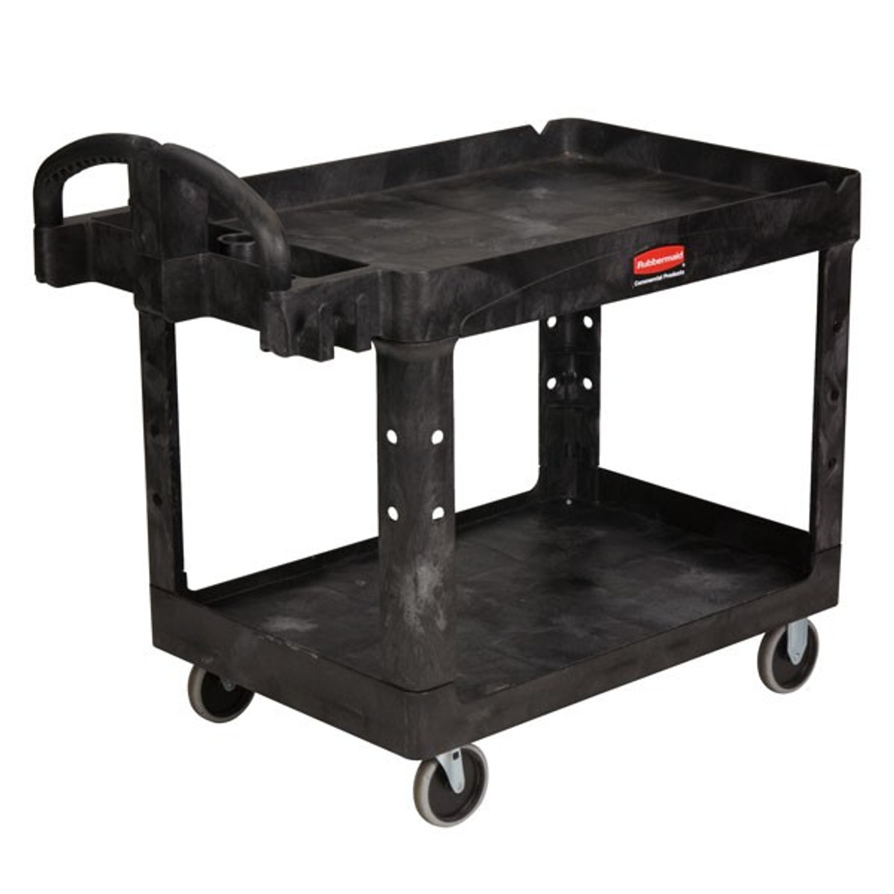 Rubbermaid Heavy-Duty Cart Lipped Shelf M