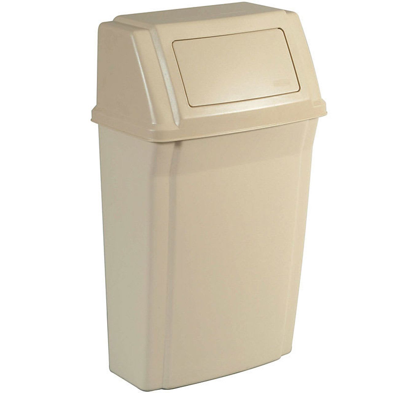 Rubbermaid Slim Jim Wall-Mounted Container 56.8 L - FG782200BEIG