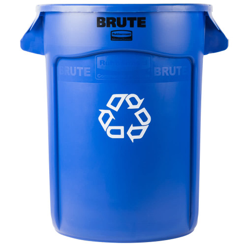 Rubbermaid Brute Container 121.1 L - Blue Recycling