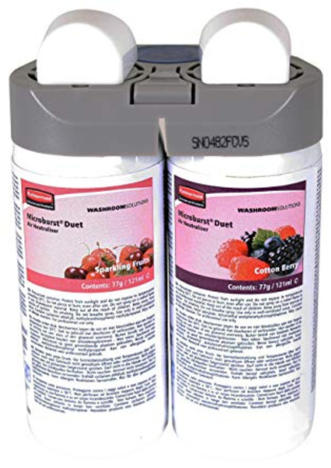 Rubbermaid Microburst Duet Sparkling Fruits & Cotton Berry