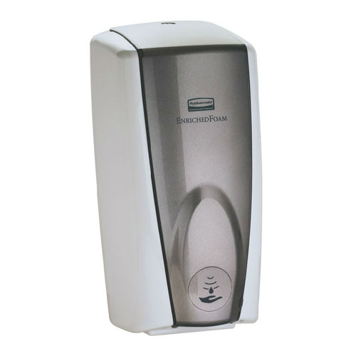 Rubbermaid 1100ml Rubbermaid Autofoam Soap Dispenser - White Grey