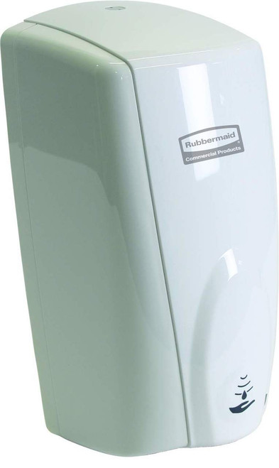 Rubbermaid 1100ml Rubbermaid Autofoam Soap Dispenser - White/White - 1851397