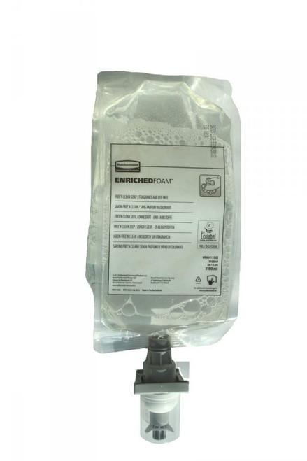 Rubbermaid 1100ml Free'N Clean Foam Soap (Fragrance & Dye Free) - Ecolabel