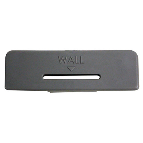 Rubbermaid Flex Manual Dispenser Lock Plate - Grey