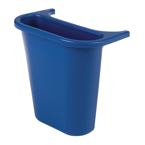 Rubbermaid Saddle Bin - Blue