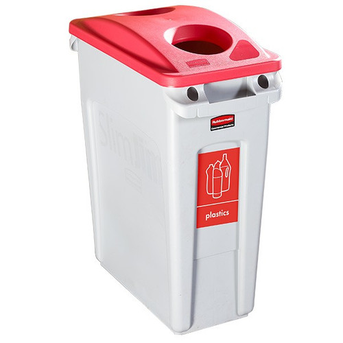 Rubbermaid Bottle Lid - Red - FG269288RED