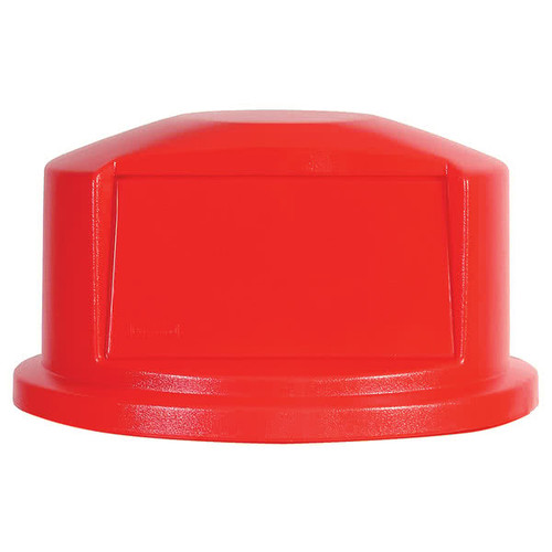 Rubbermaid Dome Top Fits FG2632 - Red