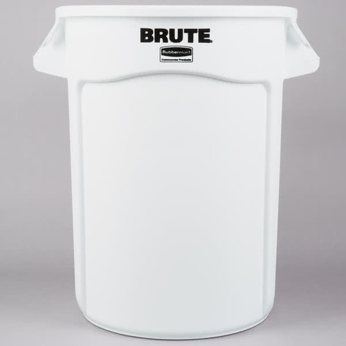 Rubbermaid Brute Container 121.1 L - White