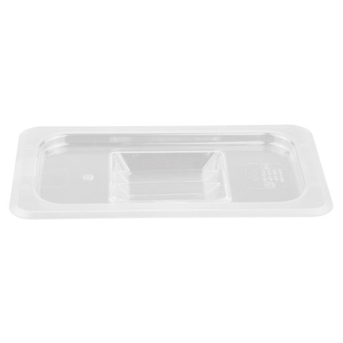 Rubbermaid Hard Cover 1/4 - Clear
