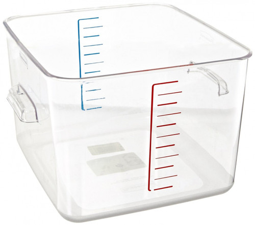 Rubbermaid Space Saving Container 11.4 L - Clear