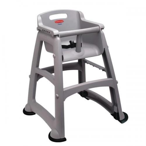 Rubbermaid Sturdy Chair Incl. Feet - Platinum