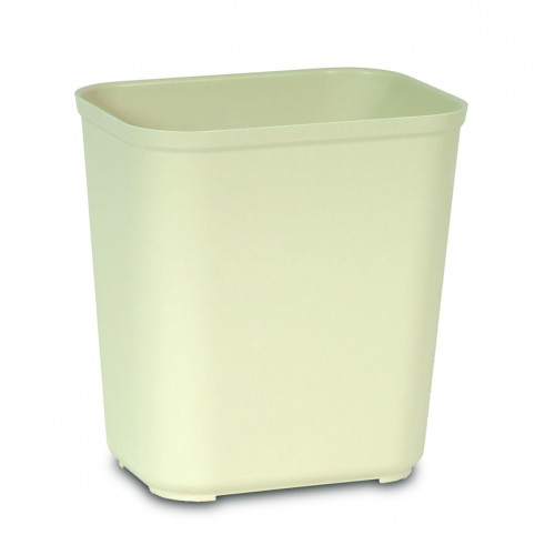 Rubbermaid Fire Resistant Wastebasket 26.5 L - Beige