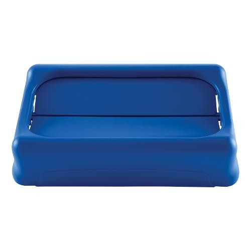 Rubbermaid Slim Jim Swing Lid - Blue