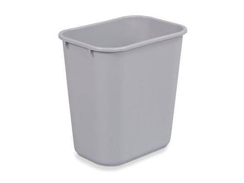 Rubbermaid Rectangular Wastebasket 26.6 L - Grey