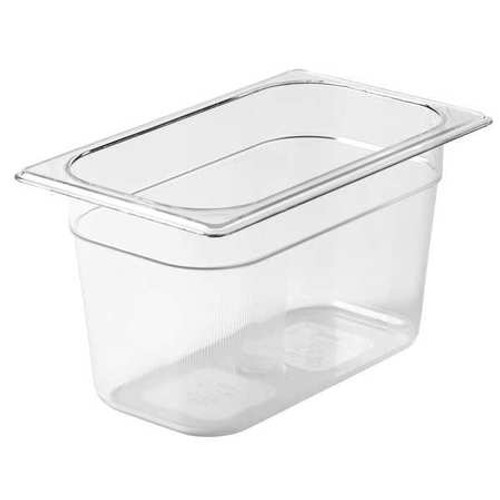 Rubbermaid Gastronorm Food Pan 1/4 150 mm - Clear