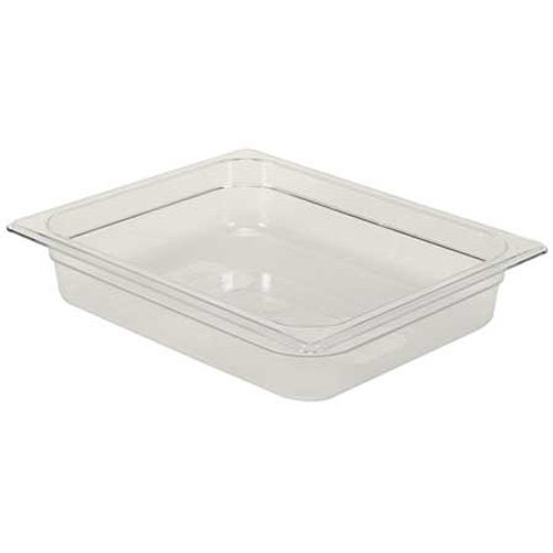 Rubbermaid Gastronorm Food Pan 1/2 65 mm - Clear