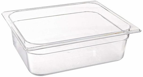 Rubbermaid Gastronorm Food Pan 1/2 100 mm - Clear - FG124P00CLR