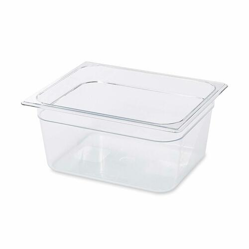 Rubbermaid Gastronorm Food Pan 1/2 150 mm - Clear - FG125P00CLR
