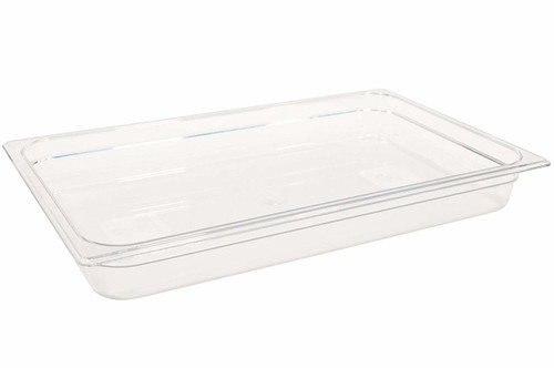 Rubbermaid Gastronorm Food Pan 1/1 65 mm - Clear