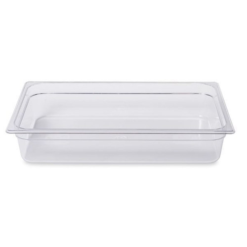 Rubbermaid Gastronorm Food Pan 1/1 100 mm - Clear