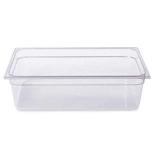 Rubbermaid Gastronorm Food Pan 1/1 150 mm - Clear