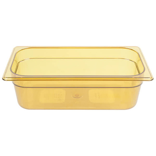 Rubbermaid Gastronorm Food Pan 1/3 100 mm - Amber