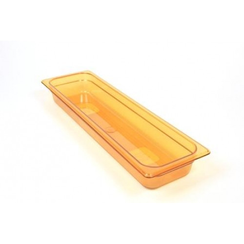 Rubbermaid Gastronorm Food Pan 2/4 65 mm - Amber