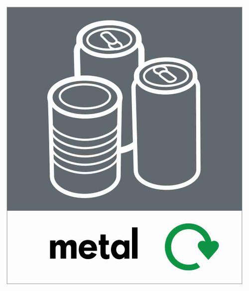 Small Waste Stream Sticker - Cans