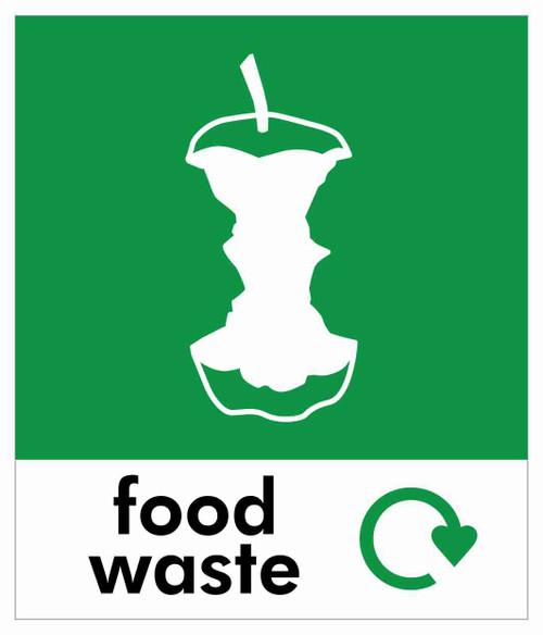 Small Waste Stream Sticker - Food Waste