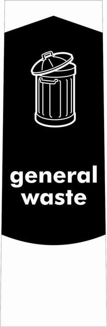 Slim Waste Stream Sticker - General Waste
