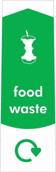 Slim Waste Stream Sticker - Food Waste