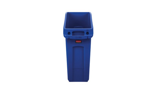 Rubbermaid Slim Jim Under Counter Container 49 L - Blue