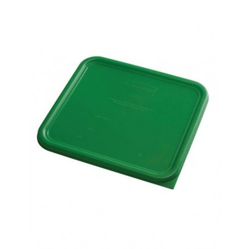 Rubbermaid Square Container Lid - Small Green