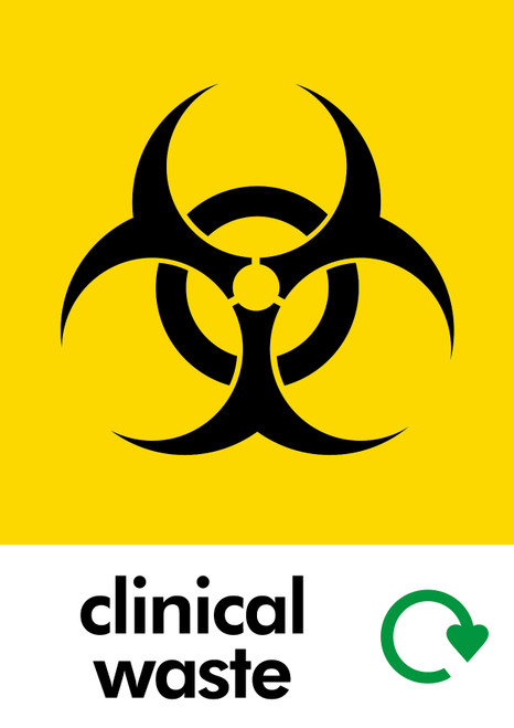 Medical Waste Sticker