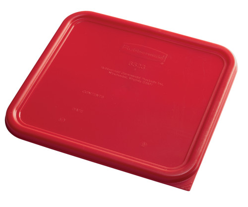 Rubbermaid Square Container Lid - Large Red