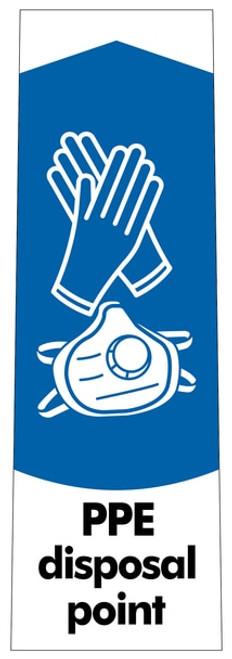 PPE Waste Sticker - Slim