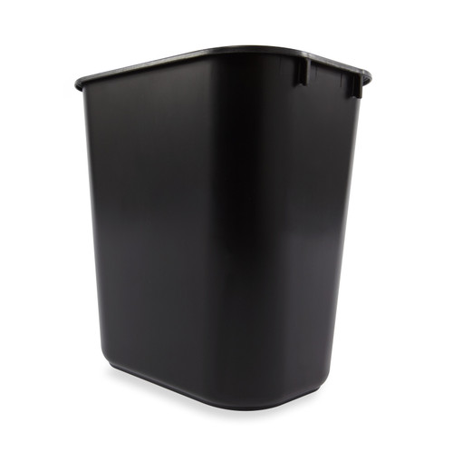 Rubbermaid Rectangular Wastebasket 12.9 L  - FG295500BLA