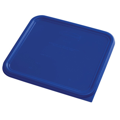 Rubbermaid Square Container Lid - Large Blue