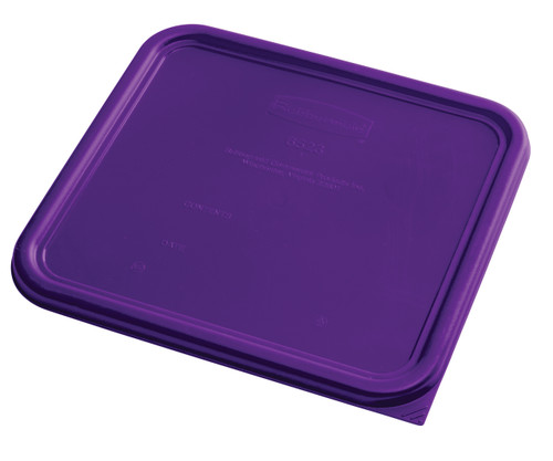 Rubbermaid Square Container Lid - Large Purple