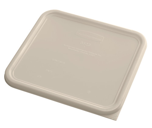 Rubbermaid Square Container Lid - Large Brown