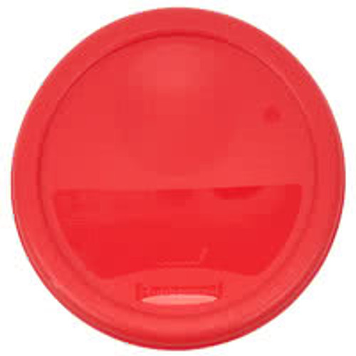 Rubbermaid Round Container Lid - Small Red