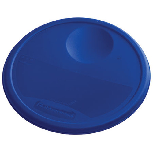 Rubbermaid Round Container Lid - Small Blue
