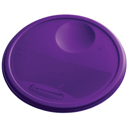 Rubbermaid Round Container Lid - Small Purple