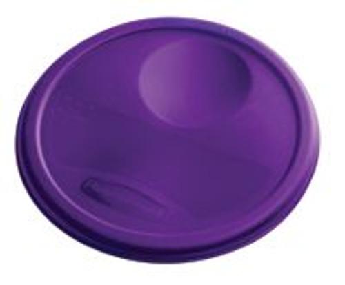 Rubbermaid Round Container Lid - Medium Purple