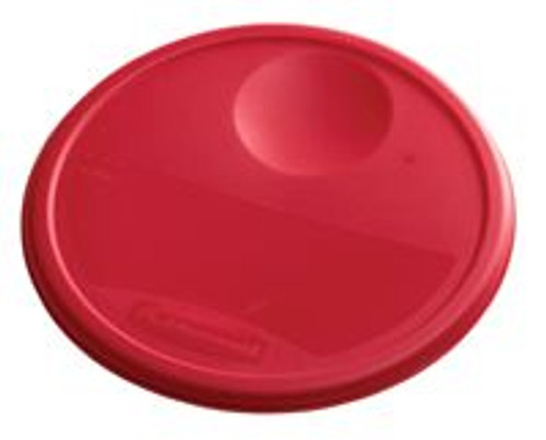 Rubbermaid Round Container Lid - Large Red