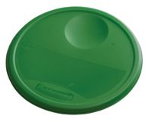 Rubbermaid Round Container Lid - Large Green