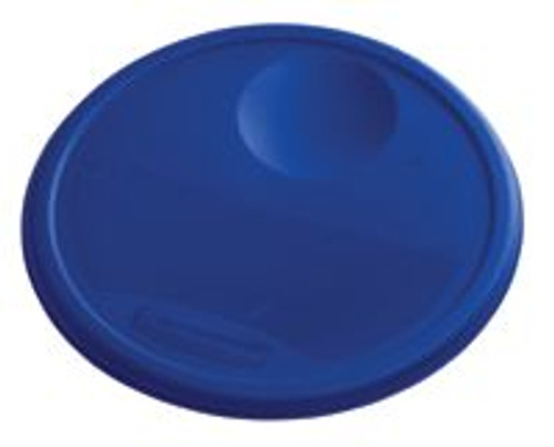 Rubbermaid Round Container Lid - Large Blue