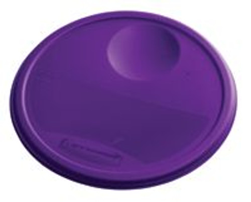 Rubbermaid Round Container Lid - Large Purple