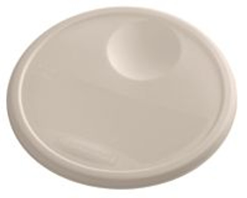 Rubbermaid Round Container Lid - Large Brown